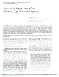 Speech By Mr Edouard Dayan General At The Talking To Others Selves Why A Pdf Available