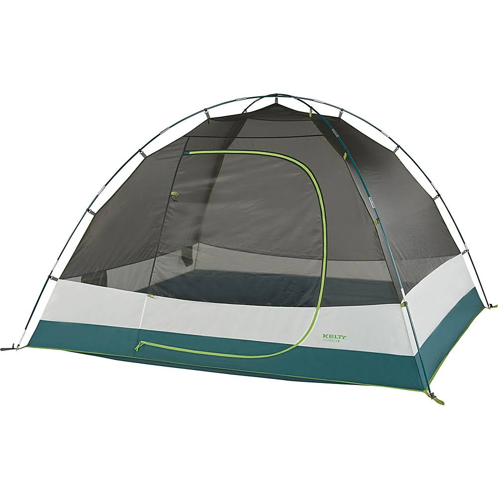Kelty Outback Camping Tent - Gray, 4 Person