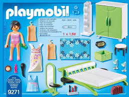 playmobil modernes wohnhaus möbelset 9268 badezimmer
