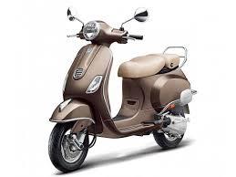 Vespa Elegante Brown Colour