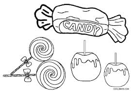 Candy Coloring Pages Fabulous