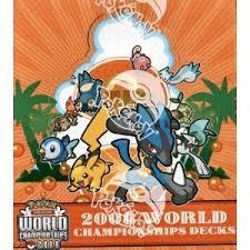 pokemon world chionship deck box 2008 amazon co uk toys games