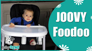 Joovy High Chair Nook by Joovy Foodoo High Chair For Baby Review By Baby Gizmo Youtube