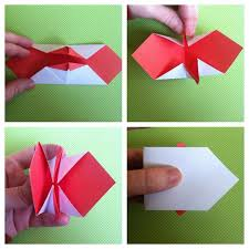 Turn Paper Over Fold Top The Bottom So Theyre Sticking Straight Up