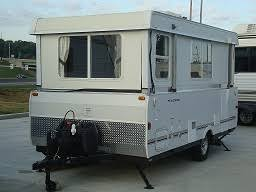 Hard Side Popup Travel Trailers First Appeared In The Early 1960s When Hi Lo Introduced Their Collapsible Trailer It Was A Camper That Lowered For