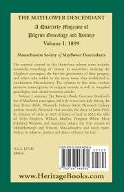 Christmas Tree Shop Middleboro Ma Warehouse by The Mayflower Descendant Volume 1 1899 Massachusetts Society Of