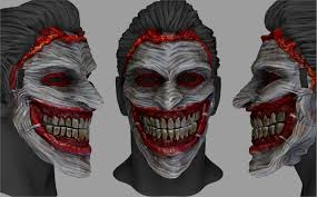Payday 2 Halloween Masks Hack by Artstation The Joker Mask Stefanos Anagnostopoulos Clown Mask