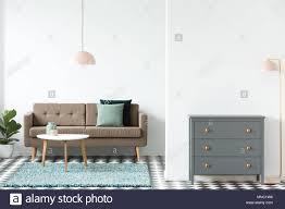 rosa le neben grau gehäuse im retro look wohnzimmer