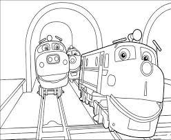Coloriage Locomotive à Imprimer Pour Les Enfants Dessin Train Vapeur