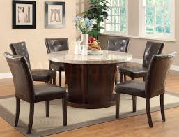 Ethan Allen Dining Room Table Leaf by Round Dining Room Tables For 8 Provisionsdining Com