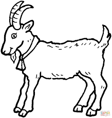 Click The Billy Goat Coloring Pages