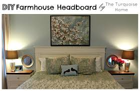 Ana White Farmhouse Headboard by Diy Farmhouse Headboard How To The Turquoise Home