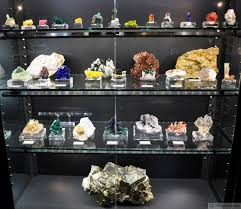 Mineral Display Cabinets 39 With