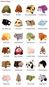 Pillow Pets & Names Pillow Pet Party Pinterest