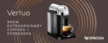 Nespresso Introduces The Vertuo For Ultimate Brewing Experience Offering Freshly Brewed Coffee With Crema As Well Delicious Authentic Espresso