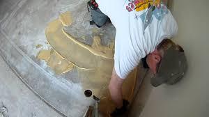 garage floor vct tile installation usa