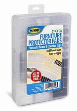 Rubber Chair Leg Protectors For Hardwood Floors by Furniture Felt Pads Ebay