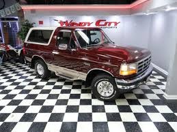 96 Ford Bronco Ed Bauer 4x4 5 0L V8 Low Miles Non Smoker