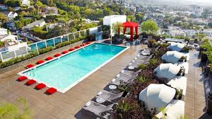 100 Sunset Plaza Apartments Anaheim Los Angeles Hotel Near Strip Andaz West Hollywood
