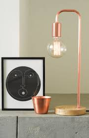 Cb2 Arc Lamp Bulb by Arc Copper Table Lamp Copper Spray Paint Lights And Bedrooms