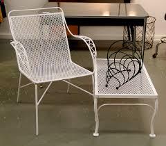 100 1960 Vintage Metal Outdoor Chairs Garden Retro Steel Patio Furniture Retro Table Old