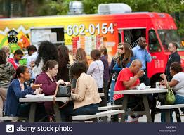 Customers Sit And Eat Meals From Popular Food Trucks During Their ... Food Truck Mw Eats Fattys Of Atlanta Trucks Roaming Hunger Meatballerz 19 Photos 42 Reviews 2715 Peachtree Atlanta Travel The Good Life Cbook Simple Recipes For Burger Truck Trailer Transport Express Freight Logistic Diesel Mack 10 Best In India Teektalks Image Result Food Market Memphis Biscuit Night Truckshere At Last Jules Rules Images Collection Would Be Just Fine With Taco On Every Frenzy Dinner Lake Mcintosh Park 20 July Gyro Chef