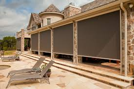 patio roll up patio shades home interior design