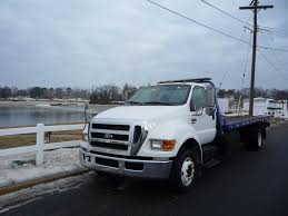 100 New Tow Trucks USED 2009 FORD F650 ROLLBACK TOW TRUCK FOR SALE IN IN NEW JERSEY 11279