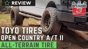 Toyo Open Country A/T II All Terrain Tire Review - YouTube Top 5 Musthave Offroad Tires For The Street The Tireseasy Blog 4x4 Off Road Tires For Truck Ironman Review Youtube Falken Wildpeak At3w Tire Review Mickey Thompson Deegan 38 Allterrain Buyers Guide Oversize Testing Bfgoodrich Ta Ko2 Pirelli Scorpion At Plus Tire Test Amp Terrain Attack Mt Toyo Open Country Ii 8lug Magazine 14 Best Off Road All Your Car Or Truck In 2018