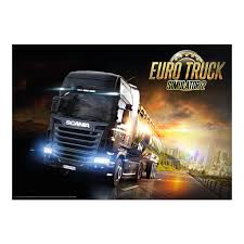 100 Truck Simulator 2 Euro Poster SCS SOFTWARE