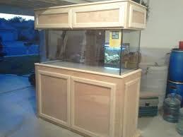 Diy Fish Tank Stand Finishing Birch Fish Tank Stand