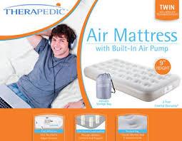 Therapedic Air Mattress at Bed Bath & Beyond Get $20 store t