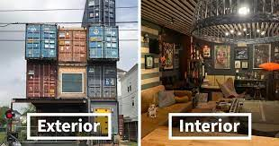 104 Building A Home From A Shipping Container Man Uses 11 S To Build His 2 500 Square Foot Dream House Nd The Inside Looks Mazing Bored Panda