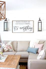 Wall Decor Above Couch That Chippy Distressed Door Turned Mirror
