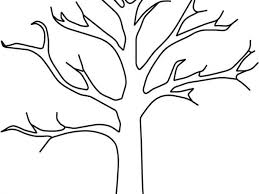 Tree Without Leaves Coloring Page Eassume Throughout Inside Amazing