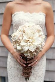 Vintage Rustic Wedding Bouquet