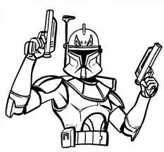 Star Wars Coloring Pages Captain Rex