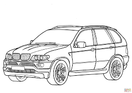 Coloring Pages Cars Bmw Printable Sheets