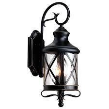 allen roth 29 1 4 in bronze outdoor wall mounted light lowe s
