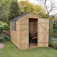 6x3 Shed Bq by Sheds Summerhouses Log Cabins And Fencing Elbec Garden Buildings
