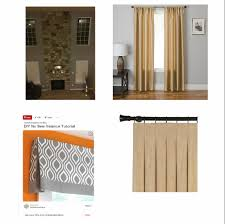 Restoration Hardware Curtain Rod Instructions by How To Decorate With Two Story Curtains My Decorating Tips