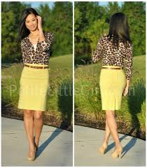 leopard cardigan with yellow skirt i u0027d wear that pinterest