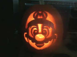 Mario Pumpkin Template Free by Mario Pumpkin That I Carved Youtube