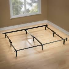 spa sensations 7 low profile adjustable steel bed frame easy no
