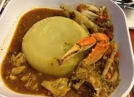 Fufu Is A Staple Food Common In Many Countries Africa Such As Ghana And Nigeria It Often Made The Traditional Ghanaian Nigerian Method By