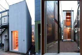 104 Japanese Tiny House Home In Tokyo Is Made Of Two Skinny Structures Curbed