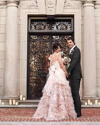 colorful dresses from real weddings martha stewart weddings