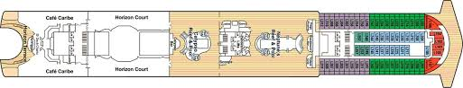 Grand Princess Deck Plan by Caribbean Princess Princess Cruises