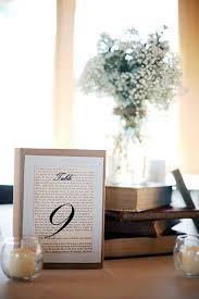 10 Sweet Ideas For A Literary Themed Wedding Book CenterpiecesVintage