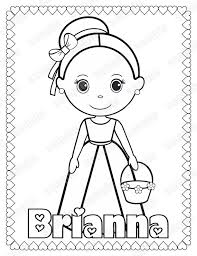 PRINTABLE Flower Girl Or Ring Bearer Wedding Activity Book Coloring Reception Favor Kids Personalized PDF JPEG Template